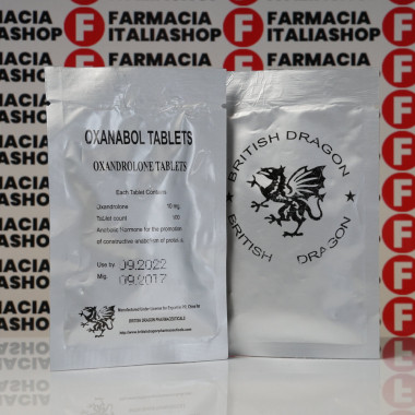 Oxanabol 10 mg British Dragon Pharmaceuticals | FIS-0196