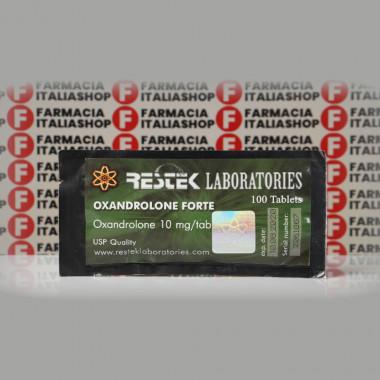 Oxandrolone Forte 10 mg Restek Laboratories