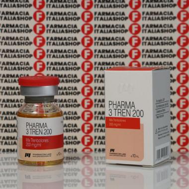 Pharma 3 Tren 200 mg Pharmacom Labs | FIS-0035
